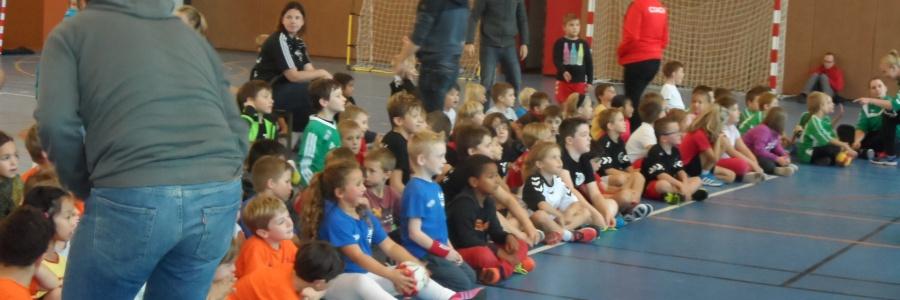 Première journée école de handball