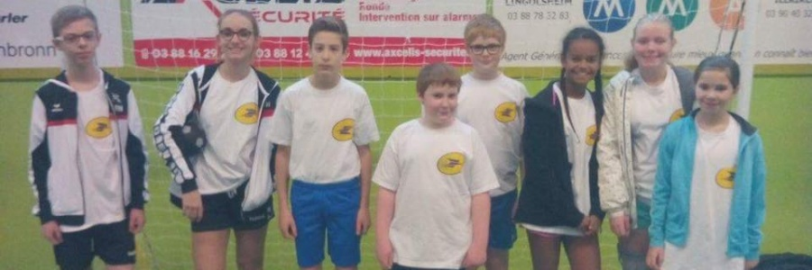 Les jeunes arbitres à Lingolsheim