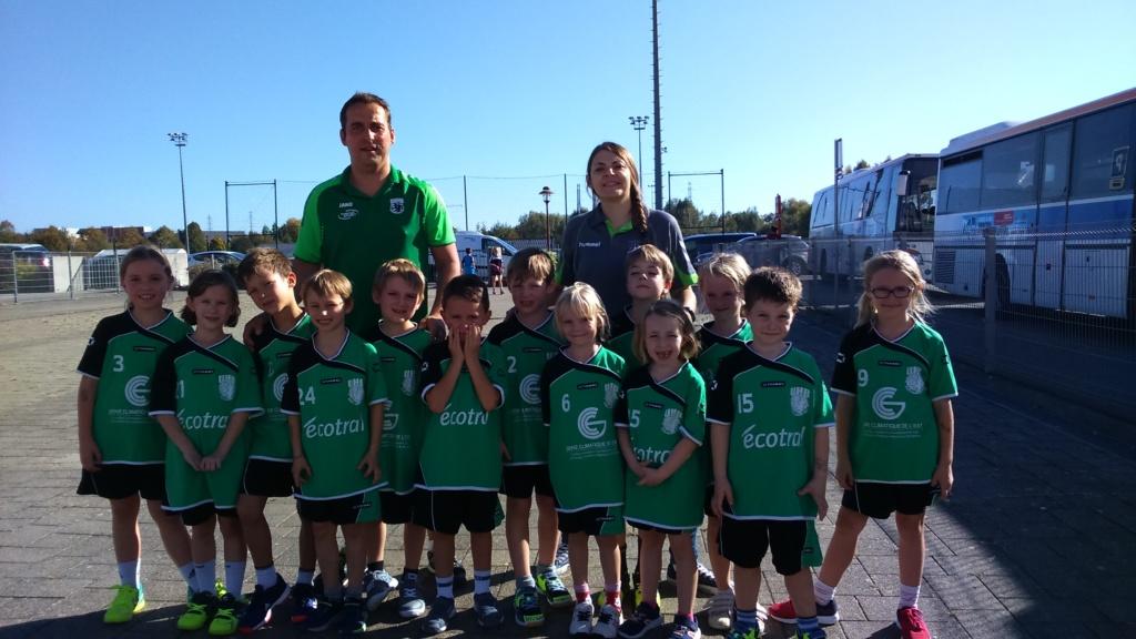 Ecole de Handball - Photo de l'équipe