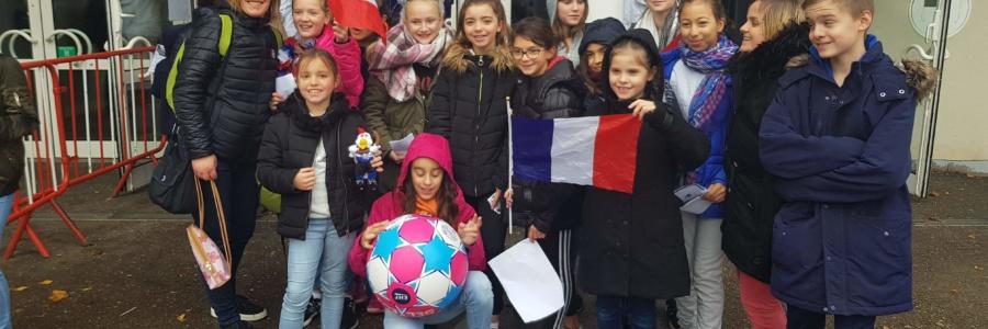 -13F | En sortie pour aller voir l'Equipe de France Féminines à Nancy – 02/12/2018